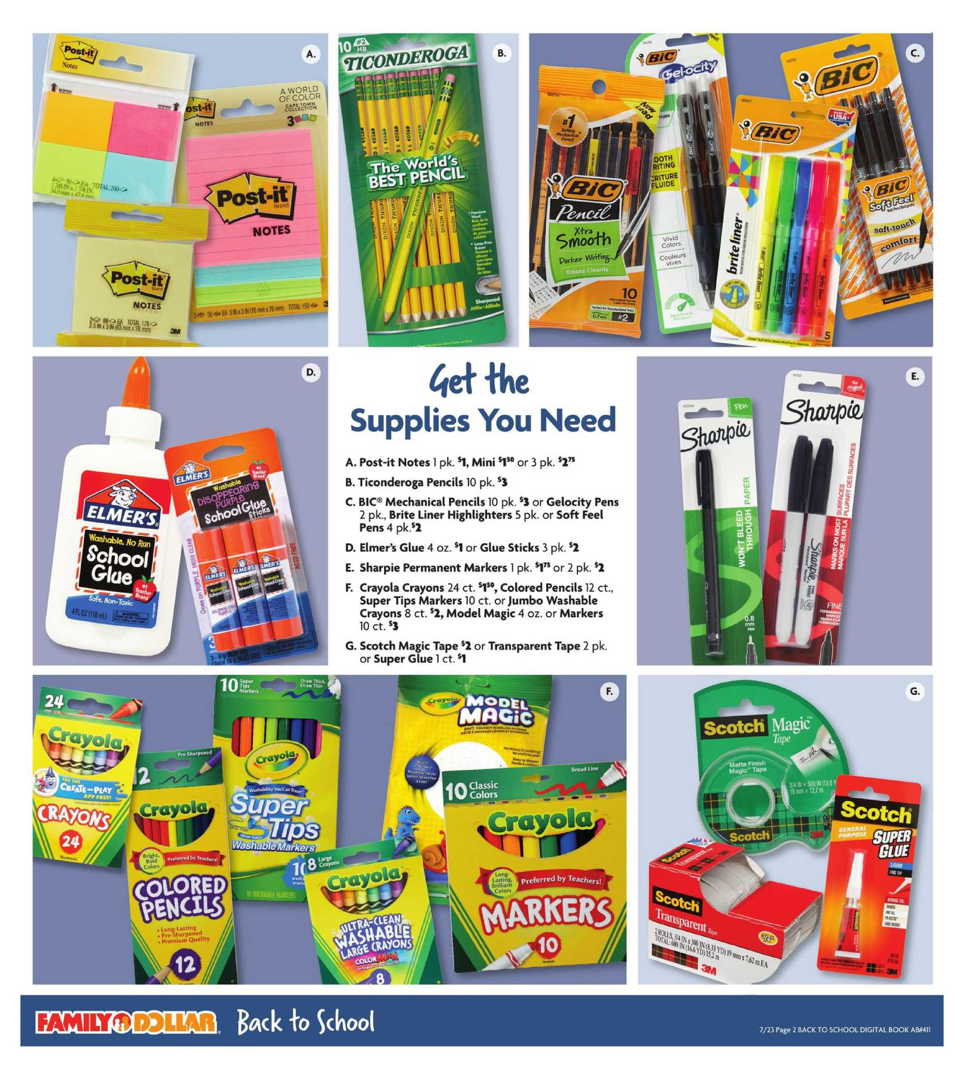 Family Dollar - deals are valid from 07/23/20 to 08/01/20 - page 3.