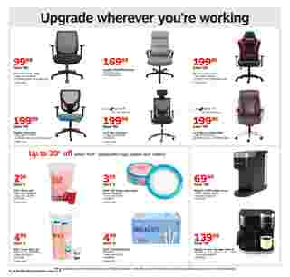 Staples - deals are valid from 10/04/20 to 10/10/20 - page 8.
