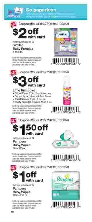 Walgreens - deals are valid from 09/27/20 to 10/31/20 - page 18.