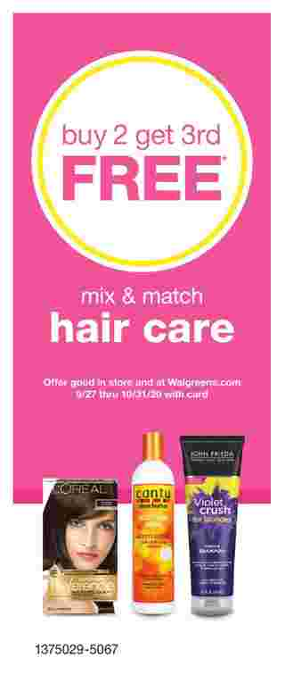 Walgreens - deals are valid from 09/27/20 to 10/31/20 - page 36.