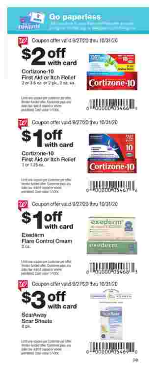 Walgreens - deals are valid from 09/27/20 to 10/31/20 - page 39.