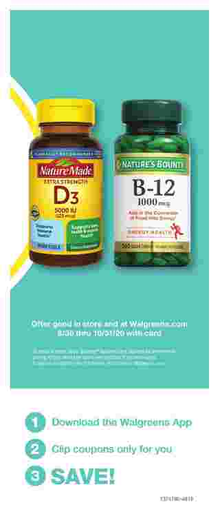 Walgreens - deals are valid from 09/27/20 to 10/31/20 - page 69.