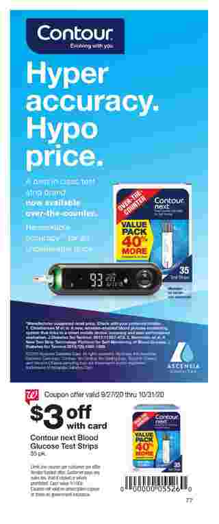 Walgreens - deals are valid from 09/27/20 to 10/31/20 - page 77.