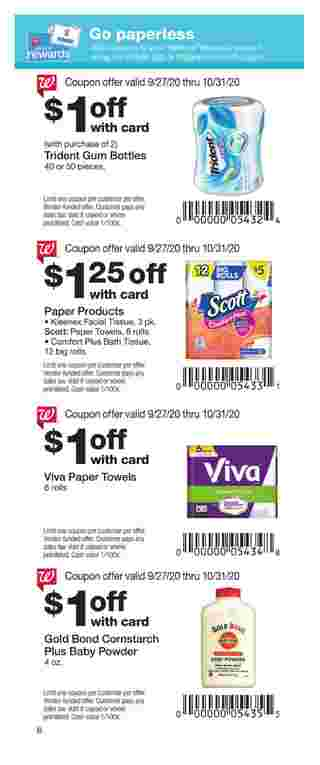 Walgreens - deals are valid from 09/27/20 to 10/31/20 - page 8.