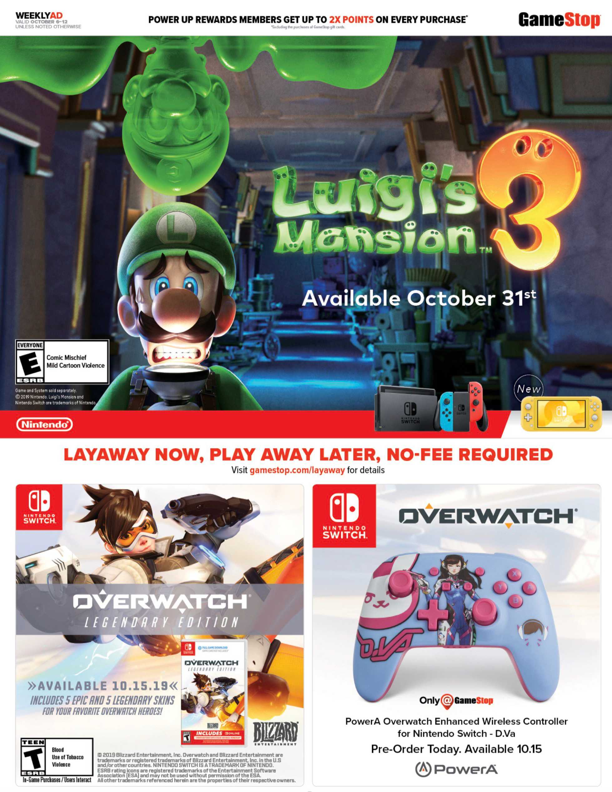GameStop - deals are valid from 10/06/19 to 10/12/19 - page 2.