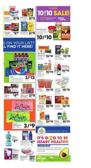 Kroger - deals are valid from 02/26/20 to 03/03/20 - page 5.