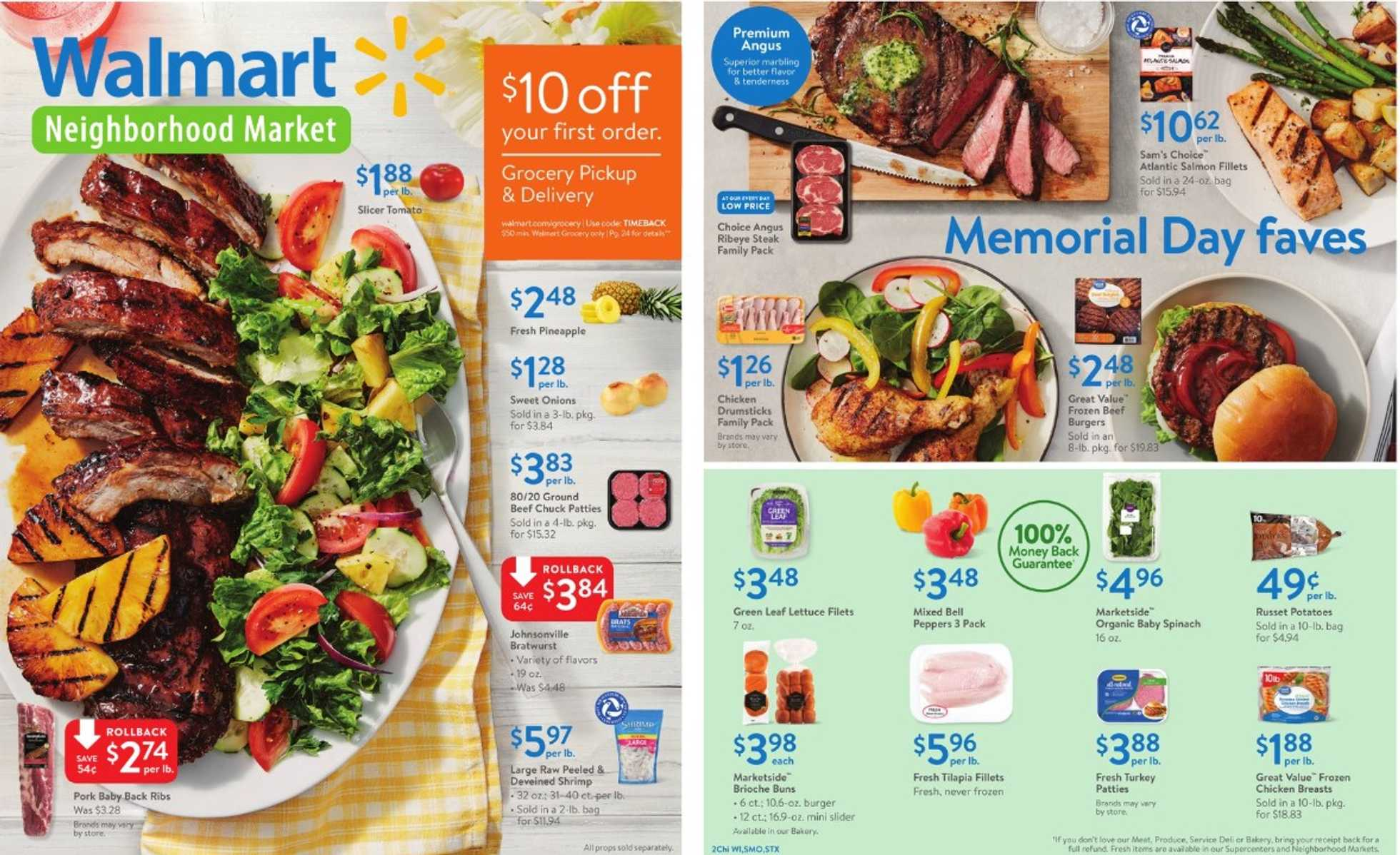 Walmart - deals are valid from 05/24/19 to 06/08/19 - page 1.