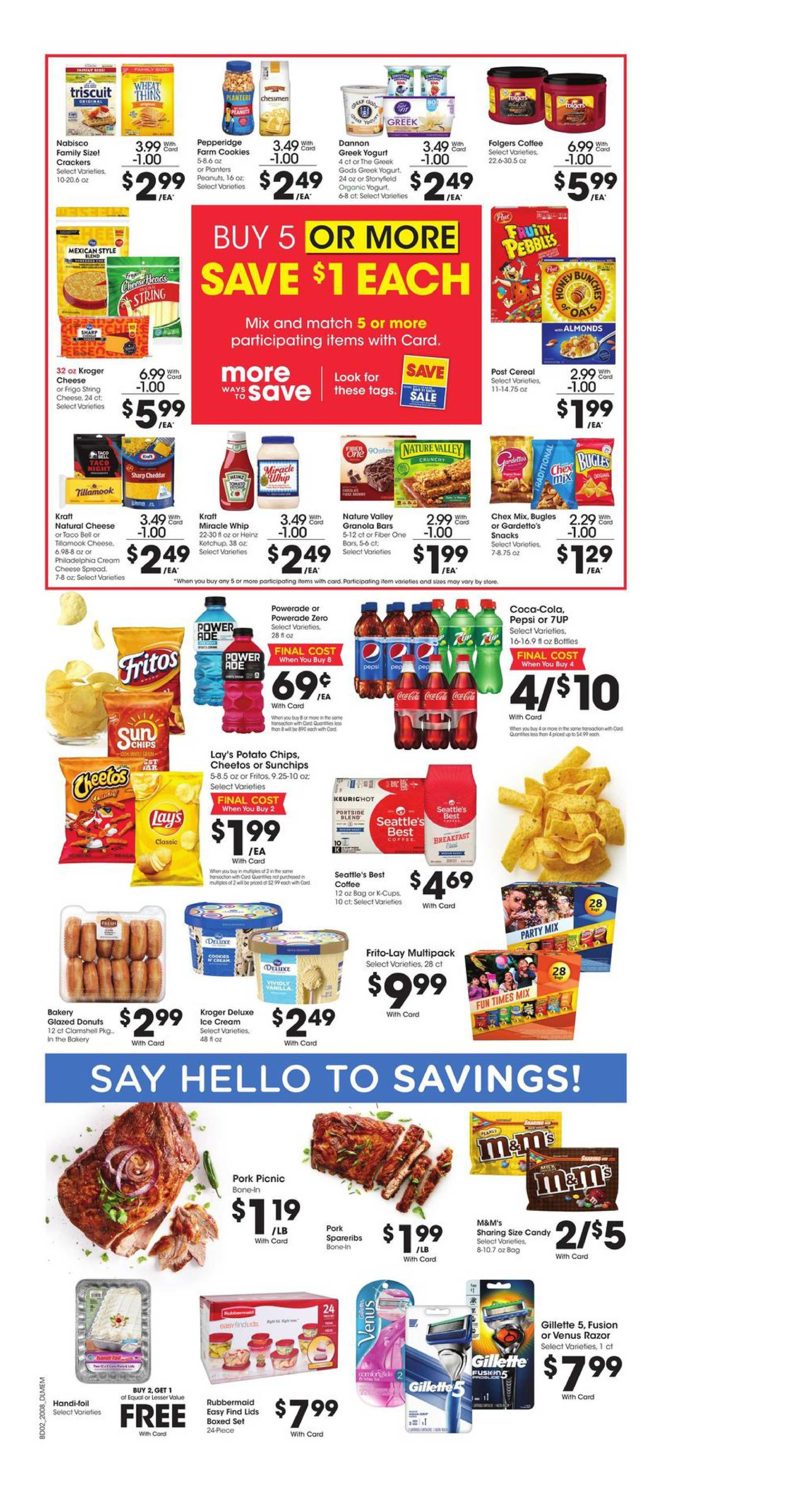 Kroger - deals are valid from 03/25/20 to 03/31/20 - page 3.