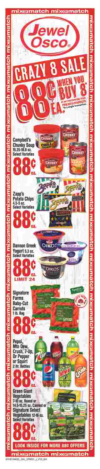 Jewel Osco - deals are valid from 09/18/19 to 09/24/19 - page 6.