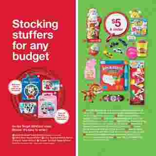 Target - deals are valid from 10/25/20 to 11/21/20 - page 10.