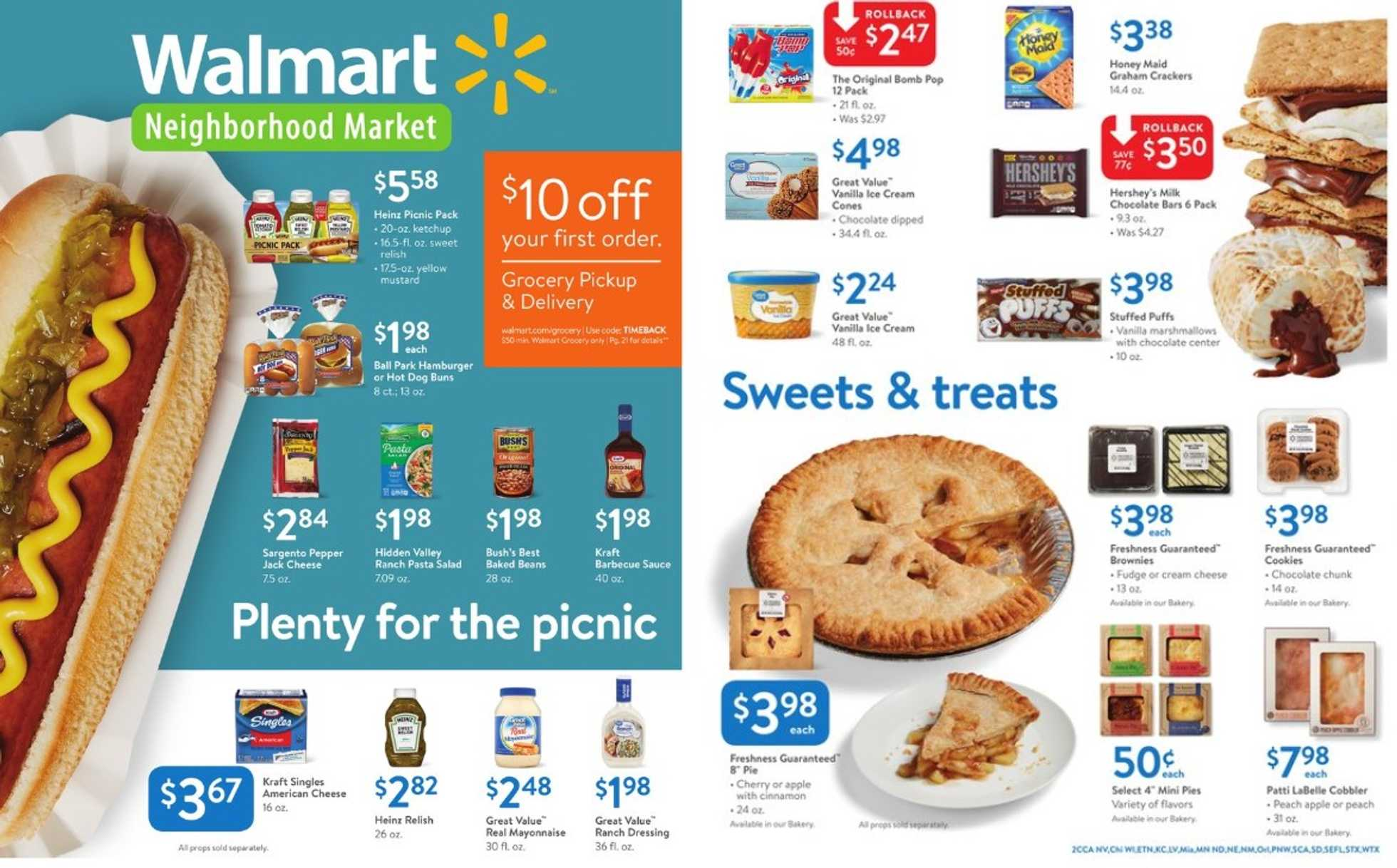 Walmart - deals are valid from 06/09/19 to 06/27/19 - page 1.