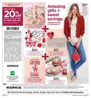 Kohl's - deals are valid from 02/07/20 to 02/17/20 - page 32.