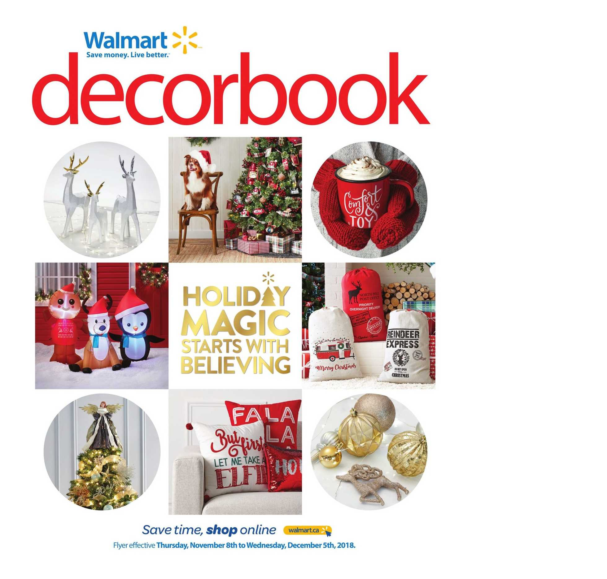 Walmart - deals are valid from 11/08/18 to 12/05/18 - page 1.