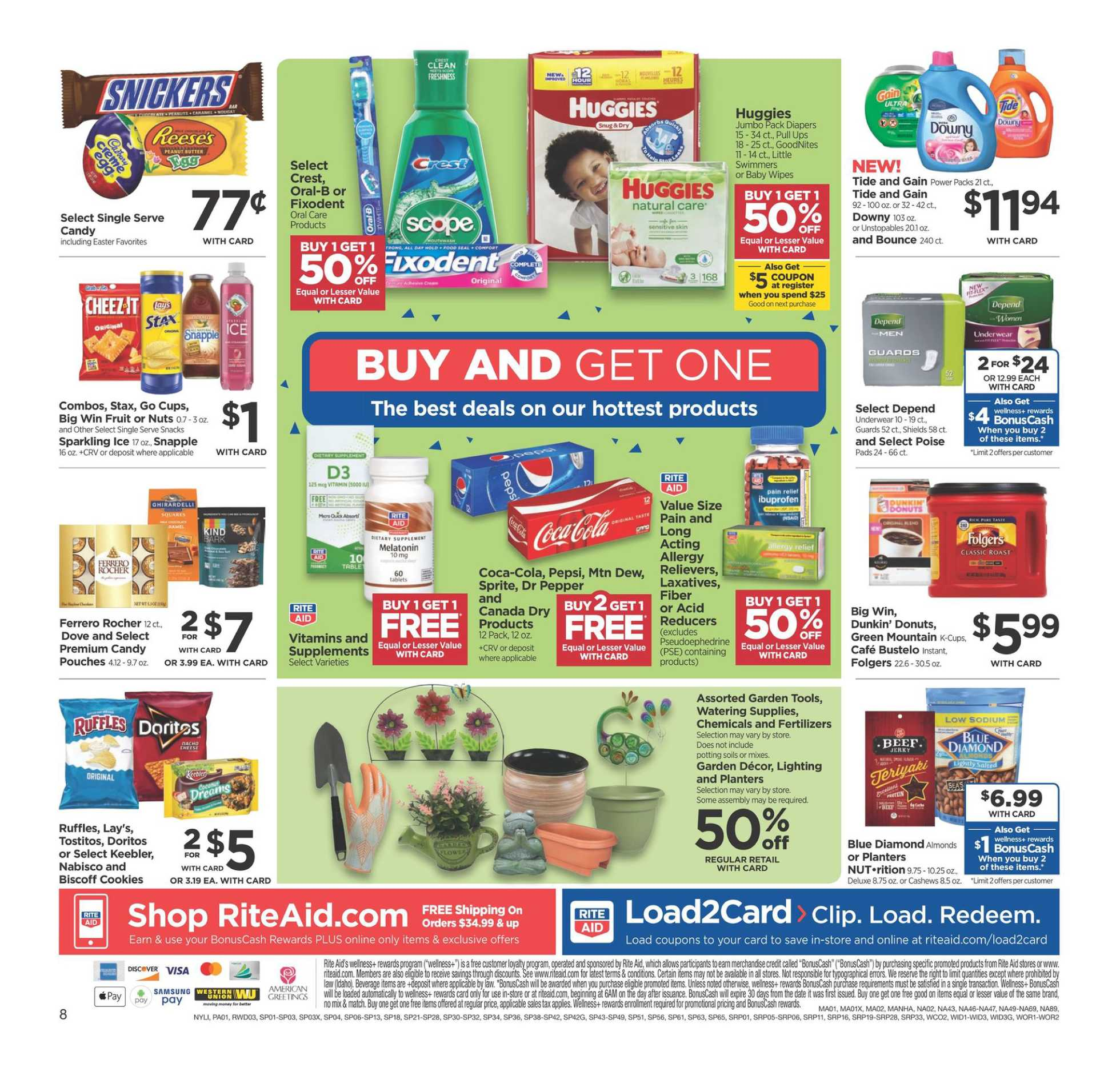 Rite Aid - deals are valid from 03/22/20 to 03/28/20 - page 2.