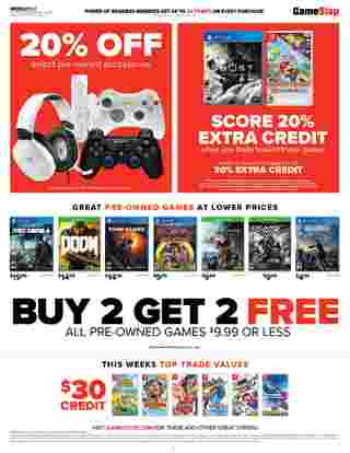 GameStop - deals are valid from 07/26/20 to 08/01/20 - page 6.
