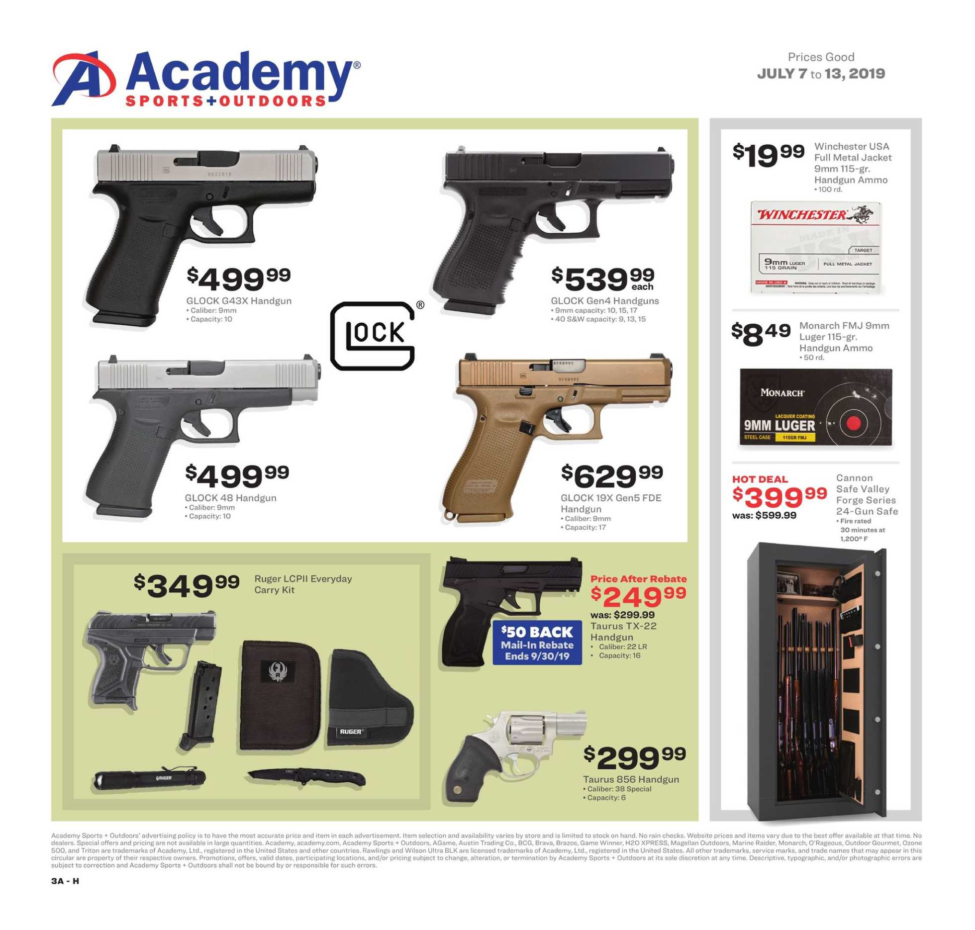 Current Flyer Of Academy Sports Outdoors Us Promotons Com