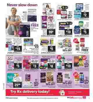 CVS - deals are valid from 07/05/20 to 07/11/20 - page 11.