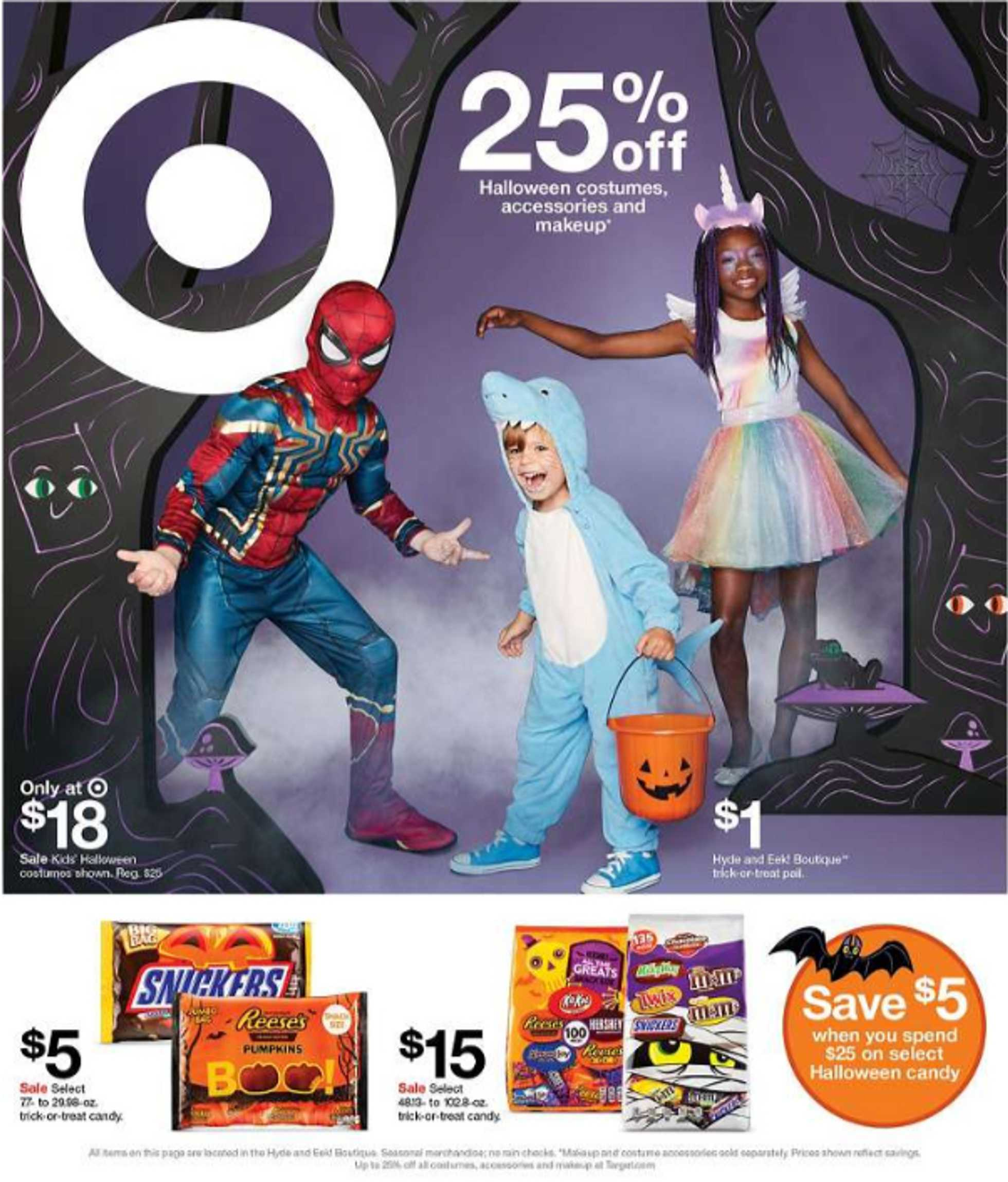 Target - deals are valid from 10/13/19 to 10/19/19 - page 1.
