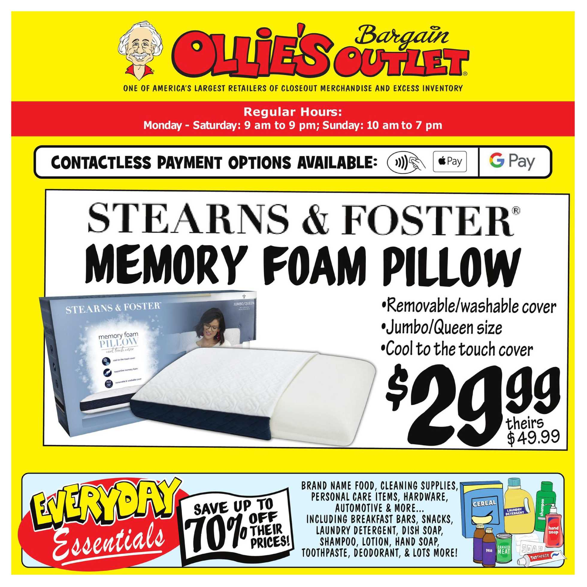 Ollie's Bargain Outlet - deals are valid from 08/20/20 to 08/26/20 - page 1.