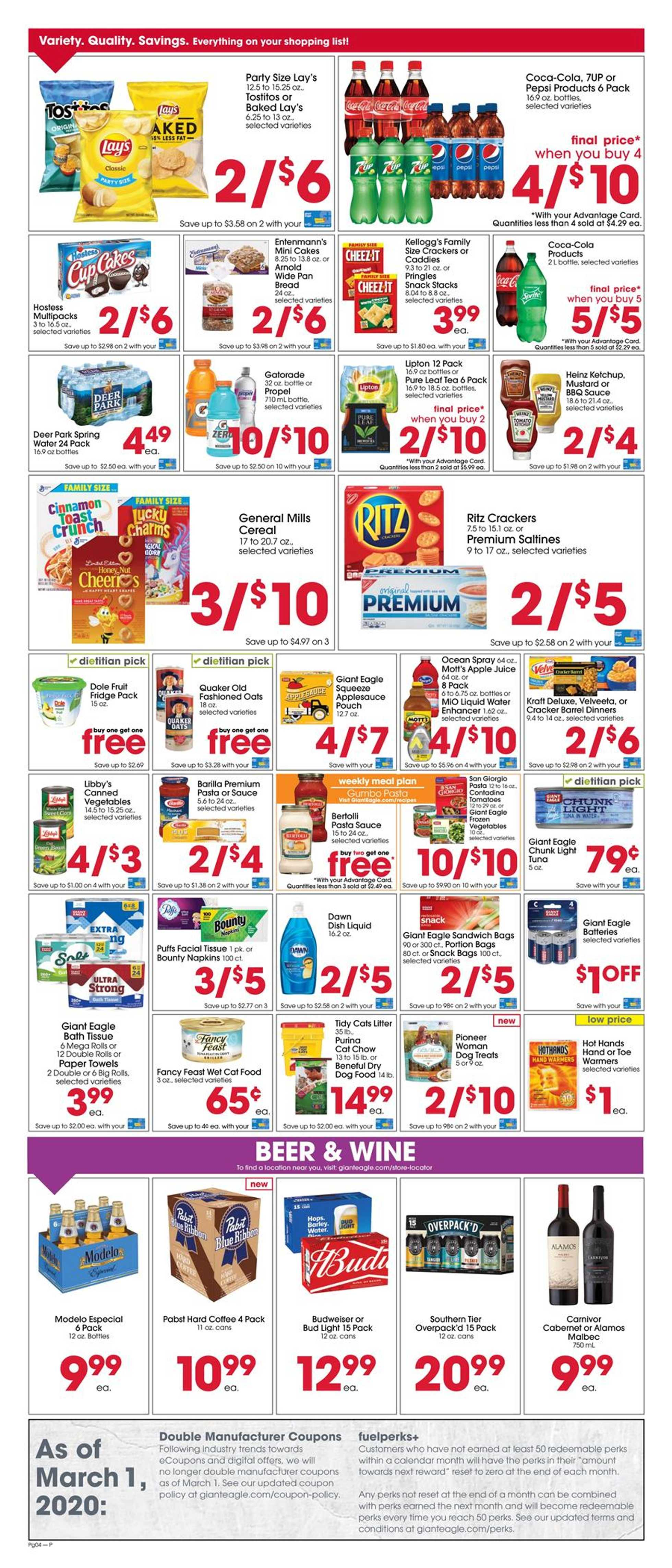 Giant Eagle - promo starting from 02/20/20 to 02/26/20 - page 4.
