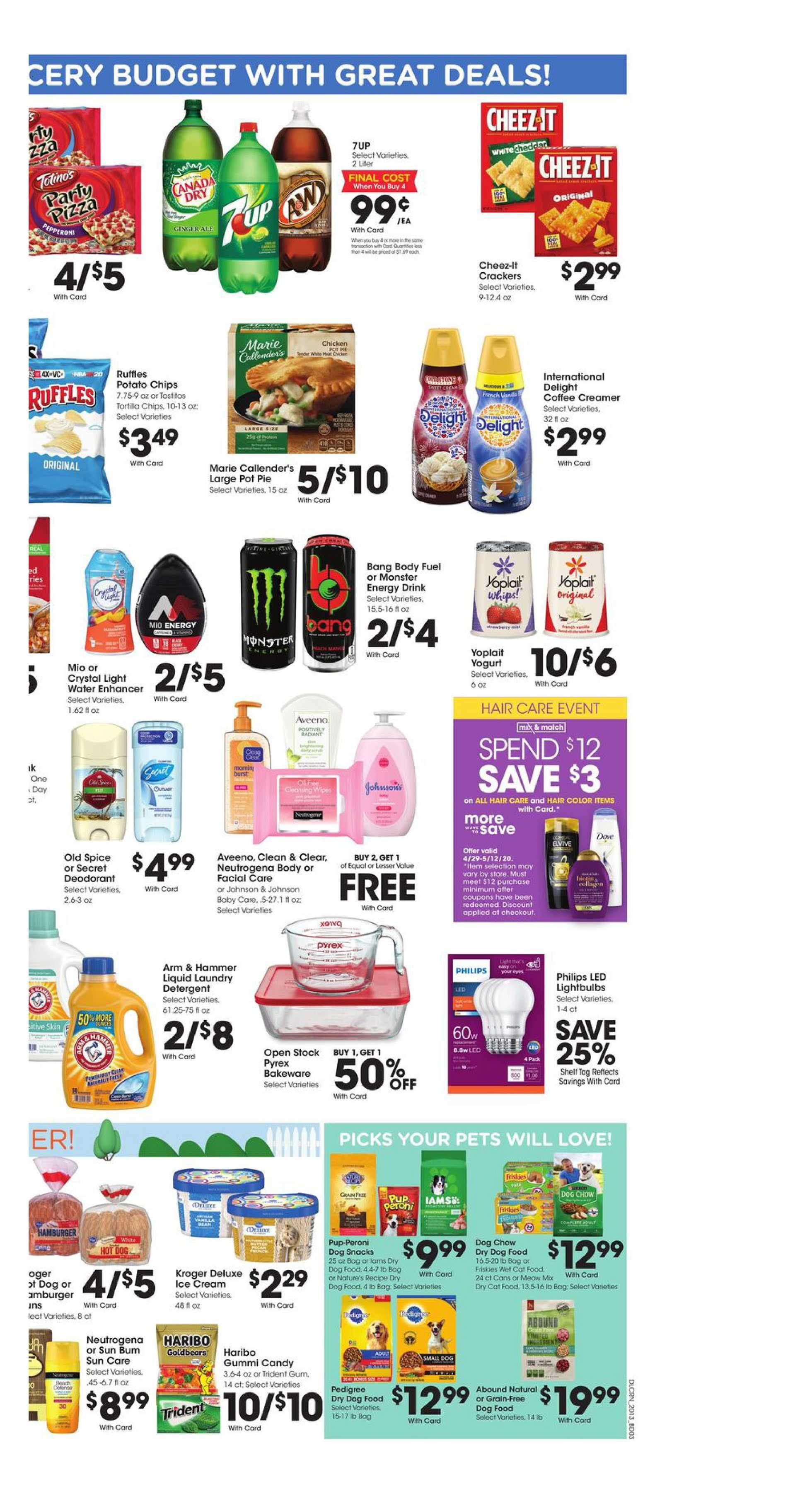 Kroger - deals are valid from 04/29/20 to 05/05/20 - page 3.
