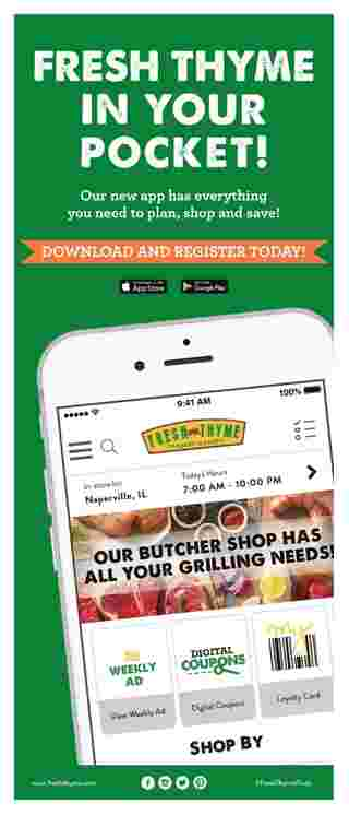 Fresh Thyme - deals are valid from 02/19/20 to 02/26/20 - page 5.