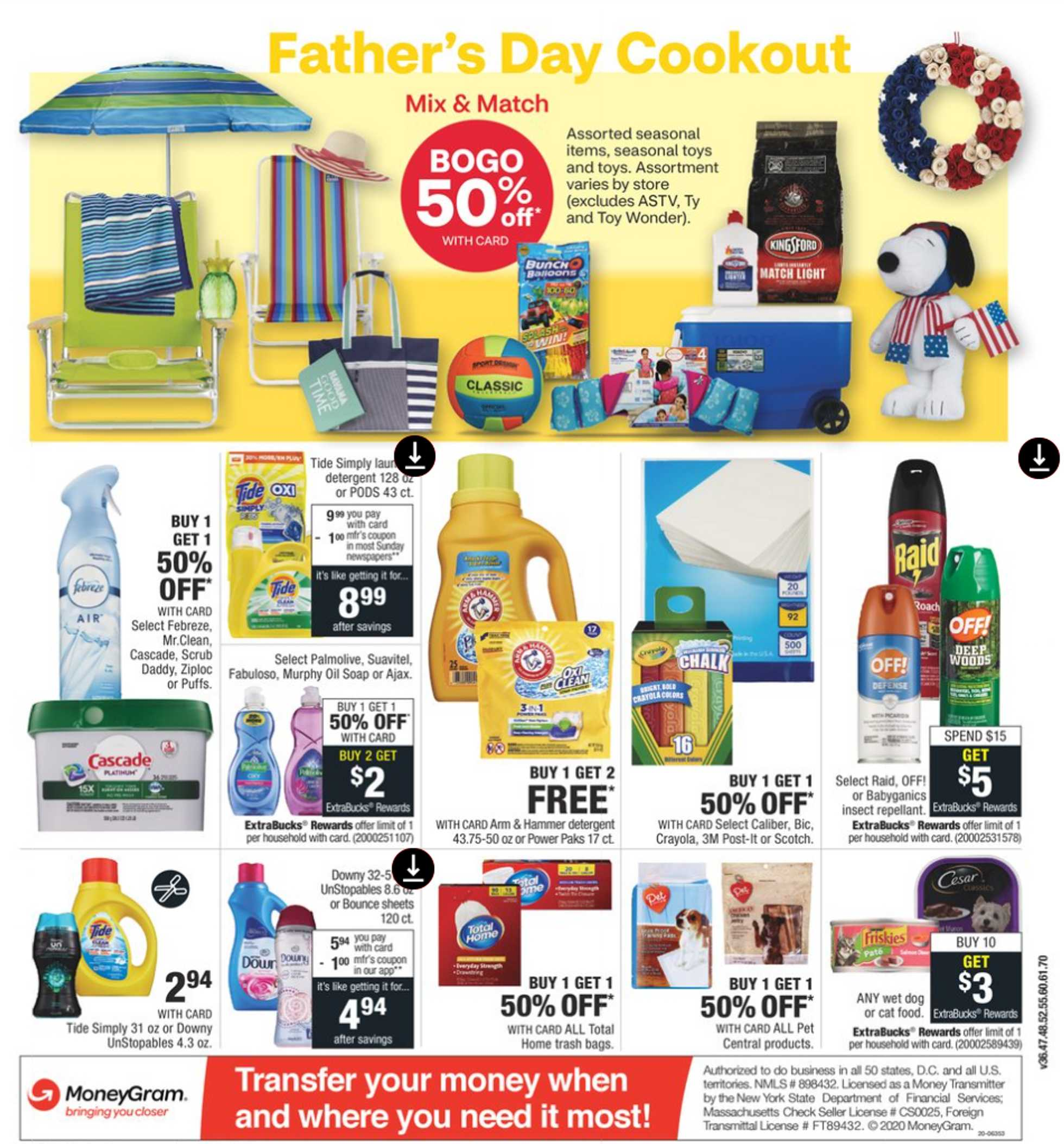 CVS - deals are valid from 06/14/20 to 06/20/20 - page 3.