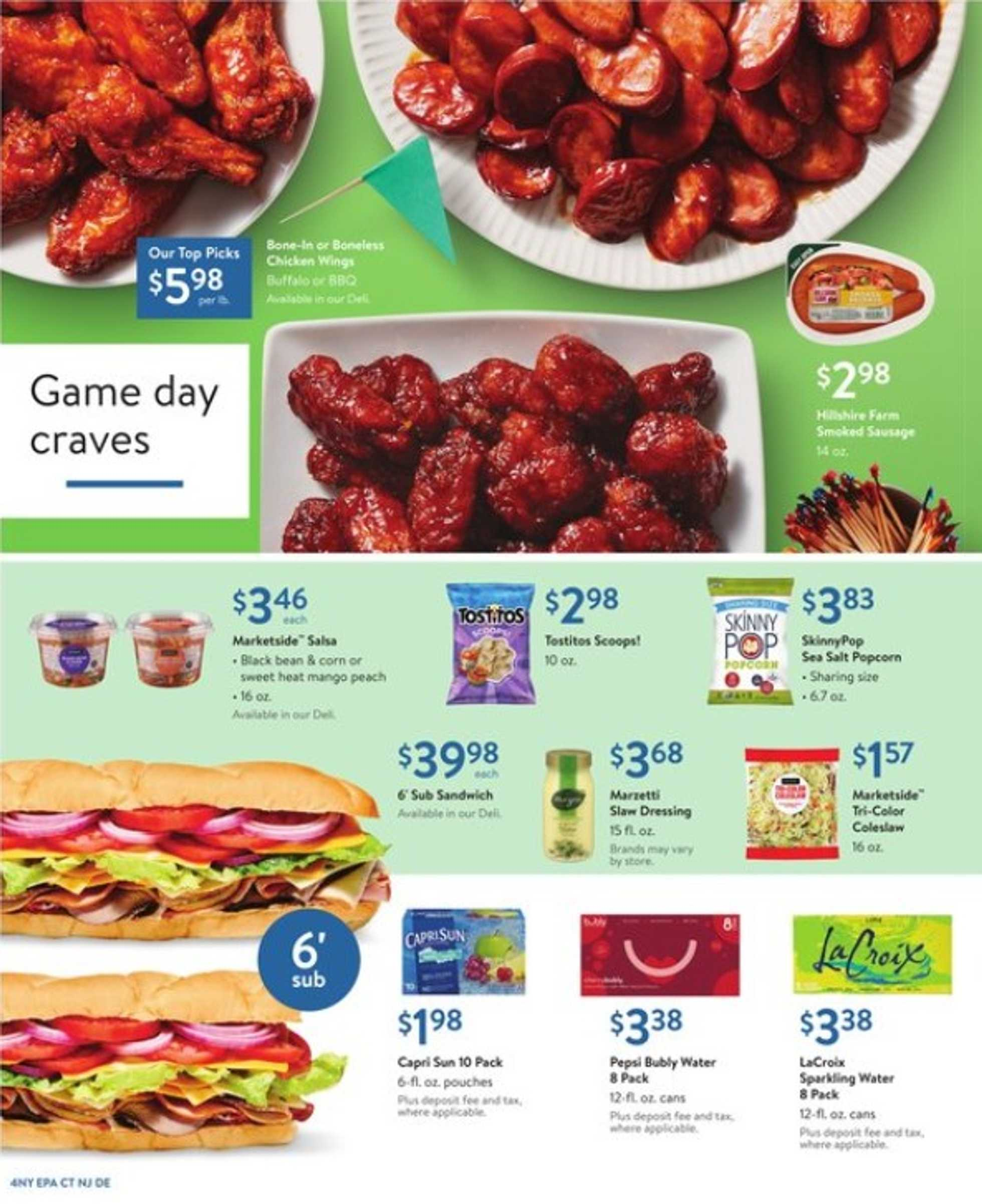 Walmart - deals are valid from 08/30/19 to 09/14/19 - page 4.