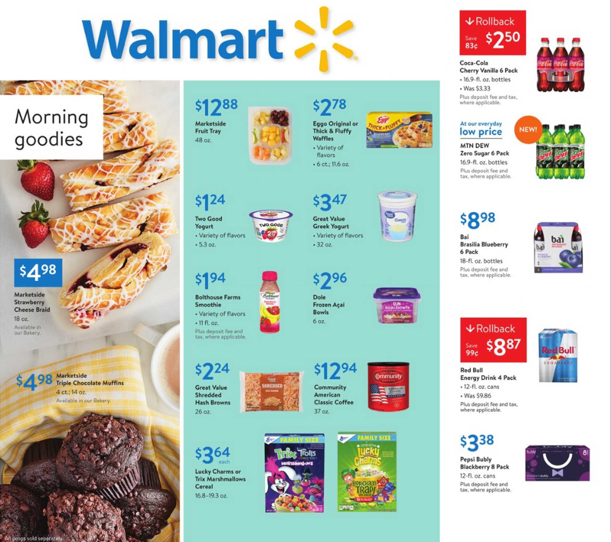 Walmart - deals are valid from 03/15/20 to 03/26/20 - page 1.