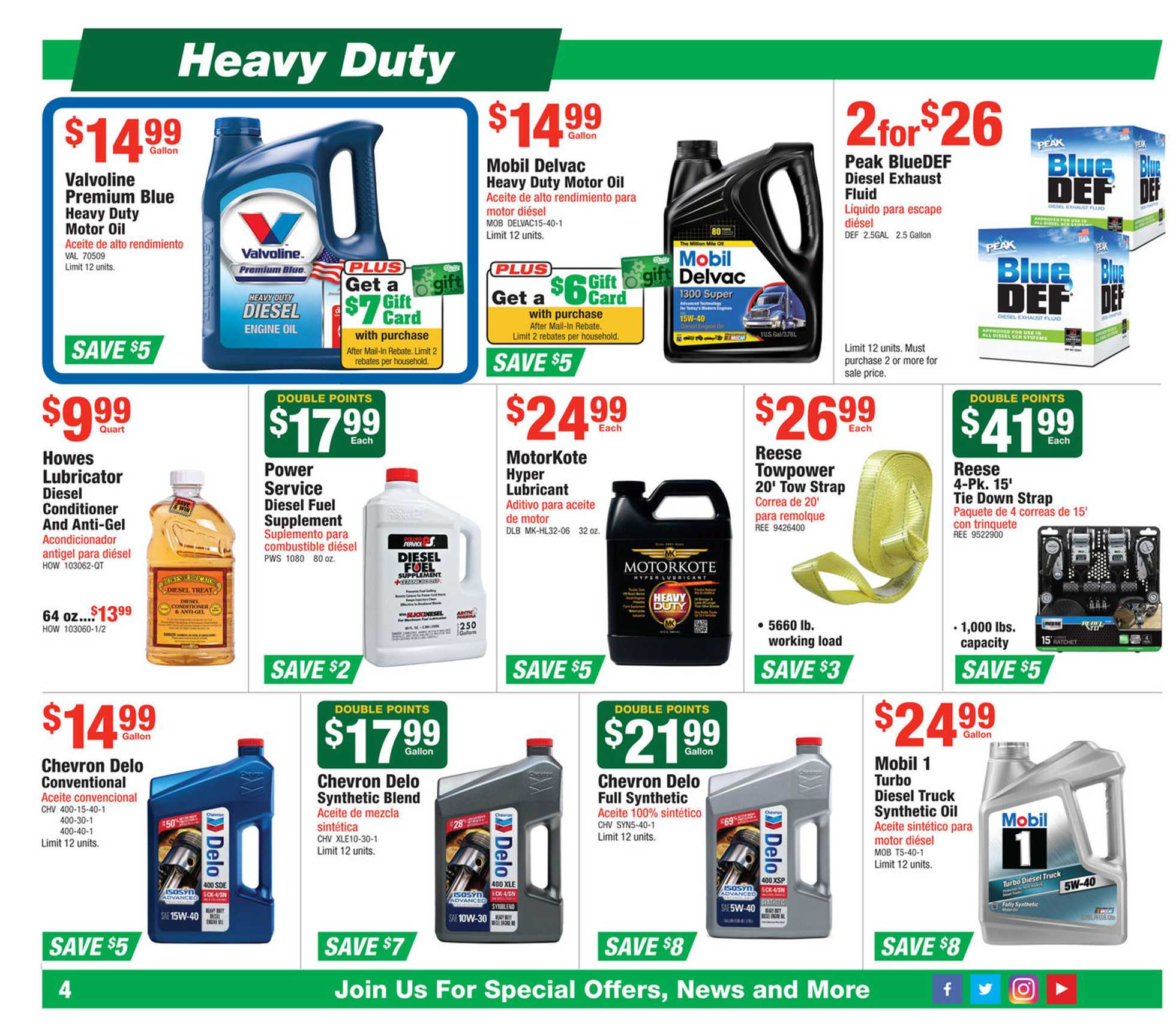 O'reilly - promo starting from 12/25/19 to 01/28/20 - page 4.