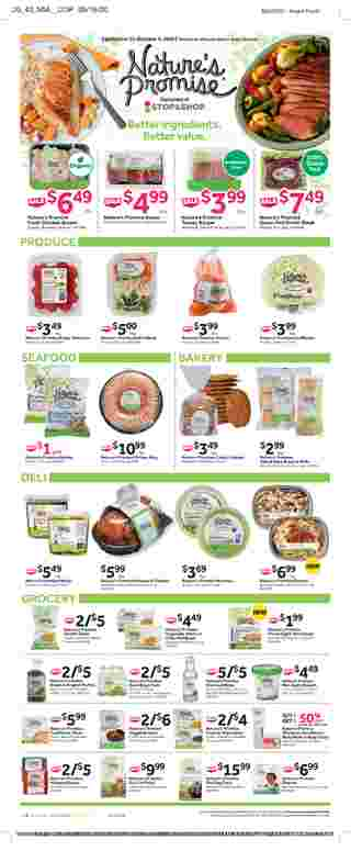 Stop & Shop - deals are valid from 09/25/20 to 10/01/20 - page 14.