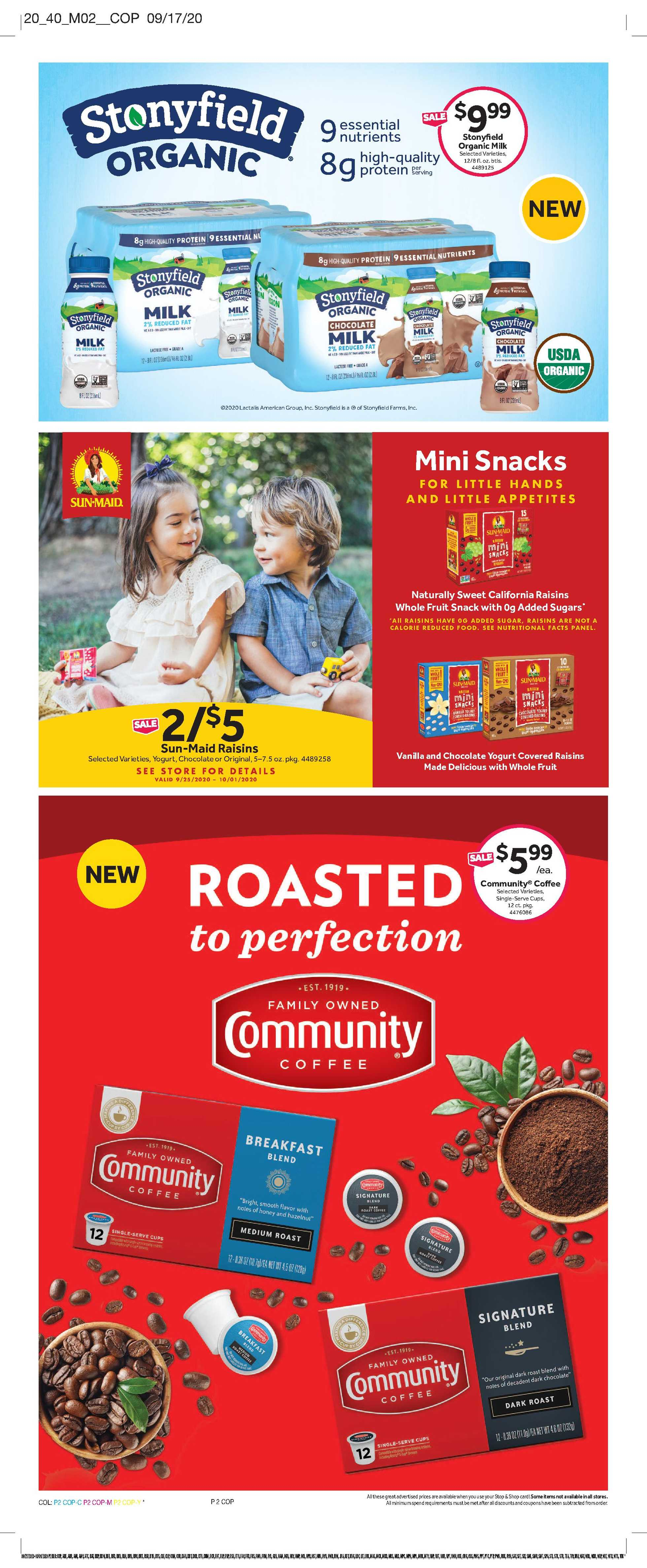 Stop & Shop - deals are valid from 09/25/20 to 10/01/20 - page 4.