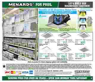 Menards - deals are valid from 08/25/19 to 09/02/19 - page 7.