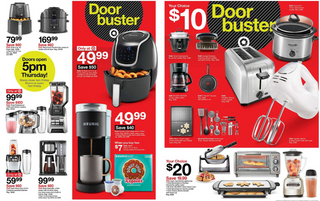 Target - promo starting from 11/28/19 to 11/30/19 - page 25. The promotion includes oster, keurig, black