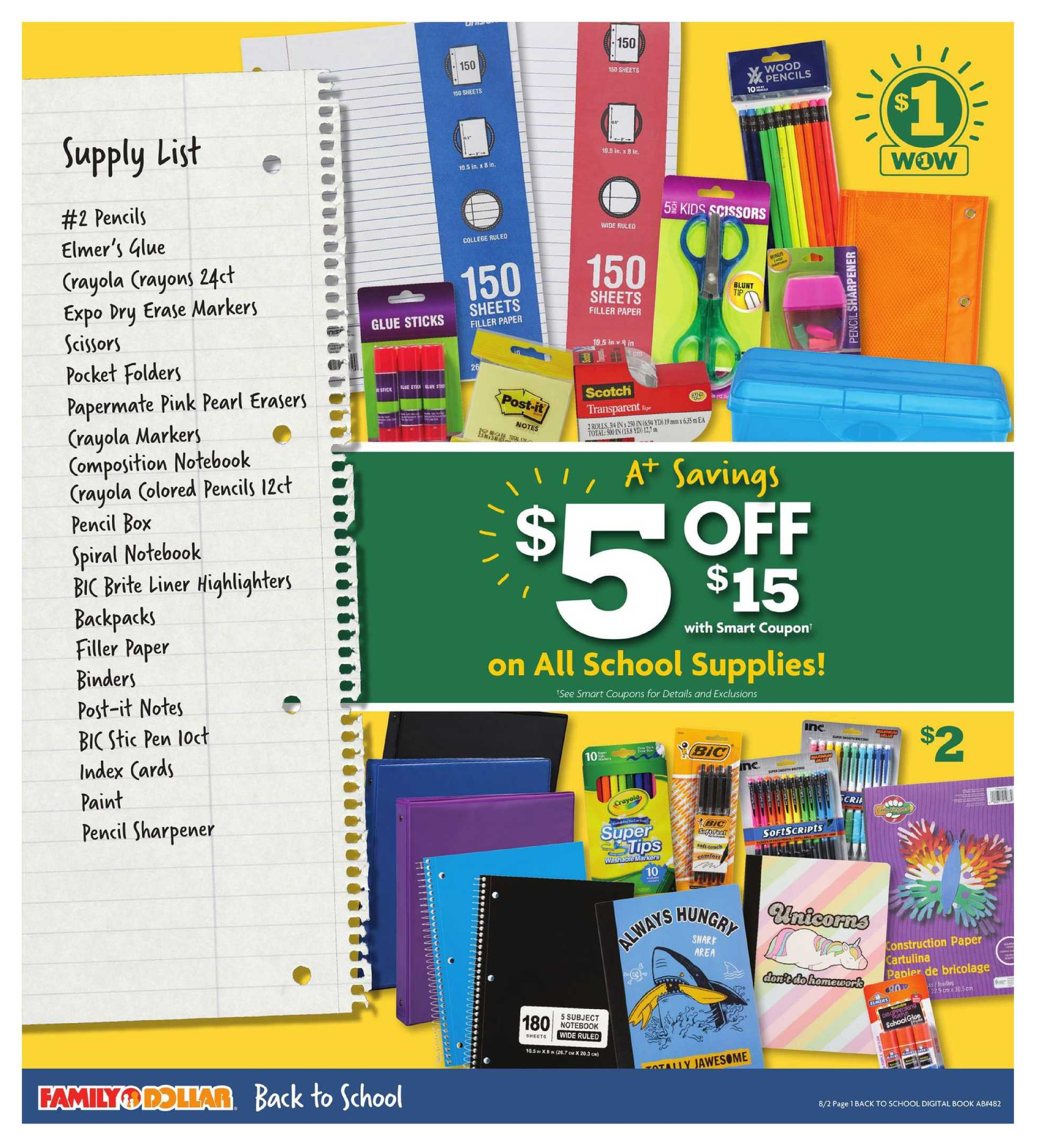 Family Dollar - deals are valid from 08/02/20 to 08/15/20 - page 2.