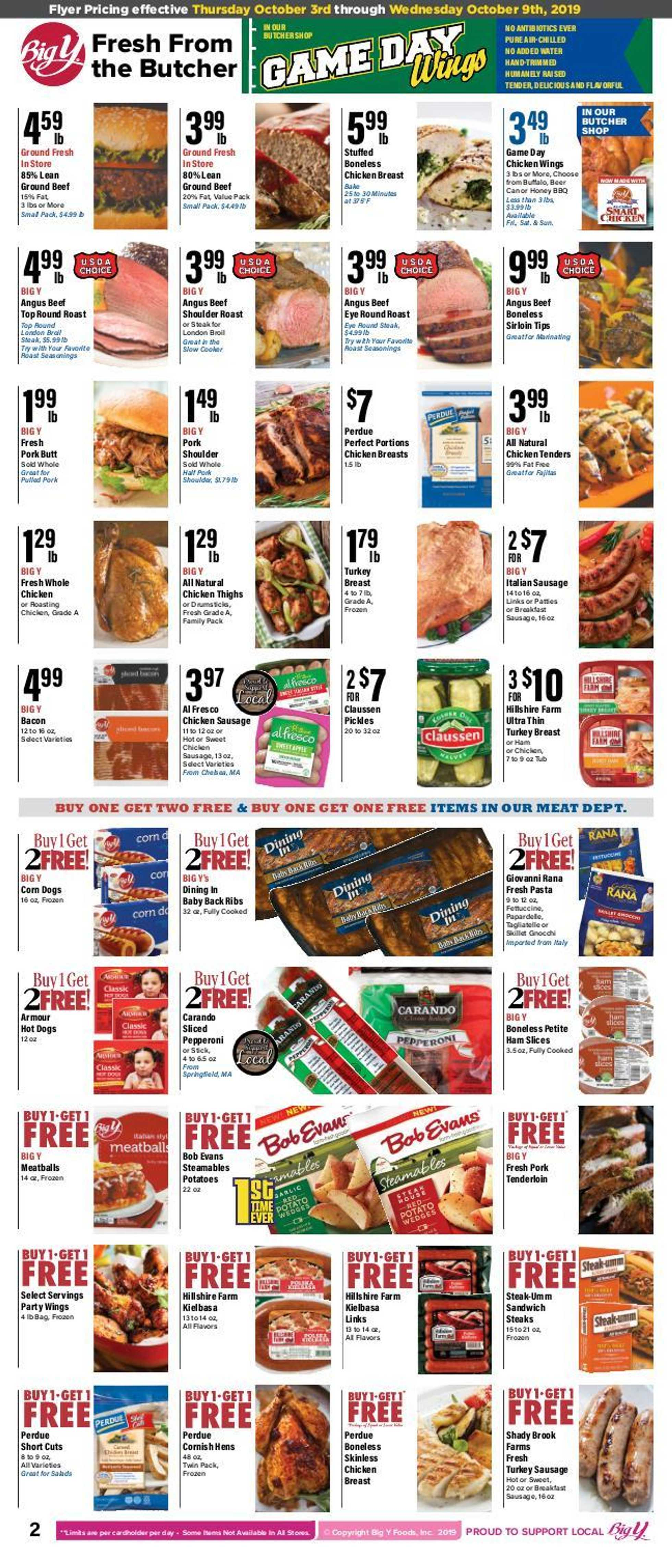 Big Y - deals are valid from 10/03/19 to 10/09/19 - page 2.