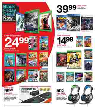 Target - deals are valid from 11/22/20 to 11/28/20 - page 7.