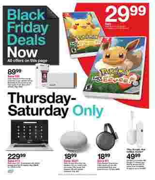 Target - deals are valid from 11/22/20 to 11/28/20 - page 17.