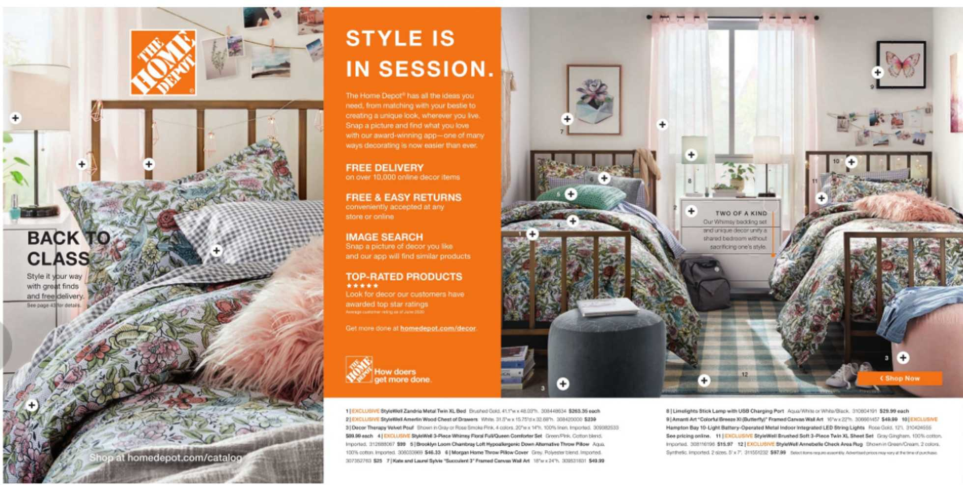 The Home Depot - deals are valid from 07/06/20 to 09/06/20 - page 1.