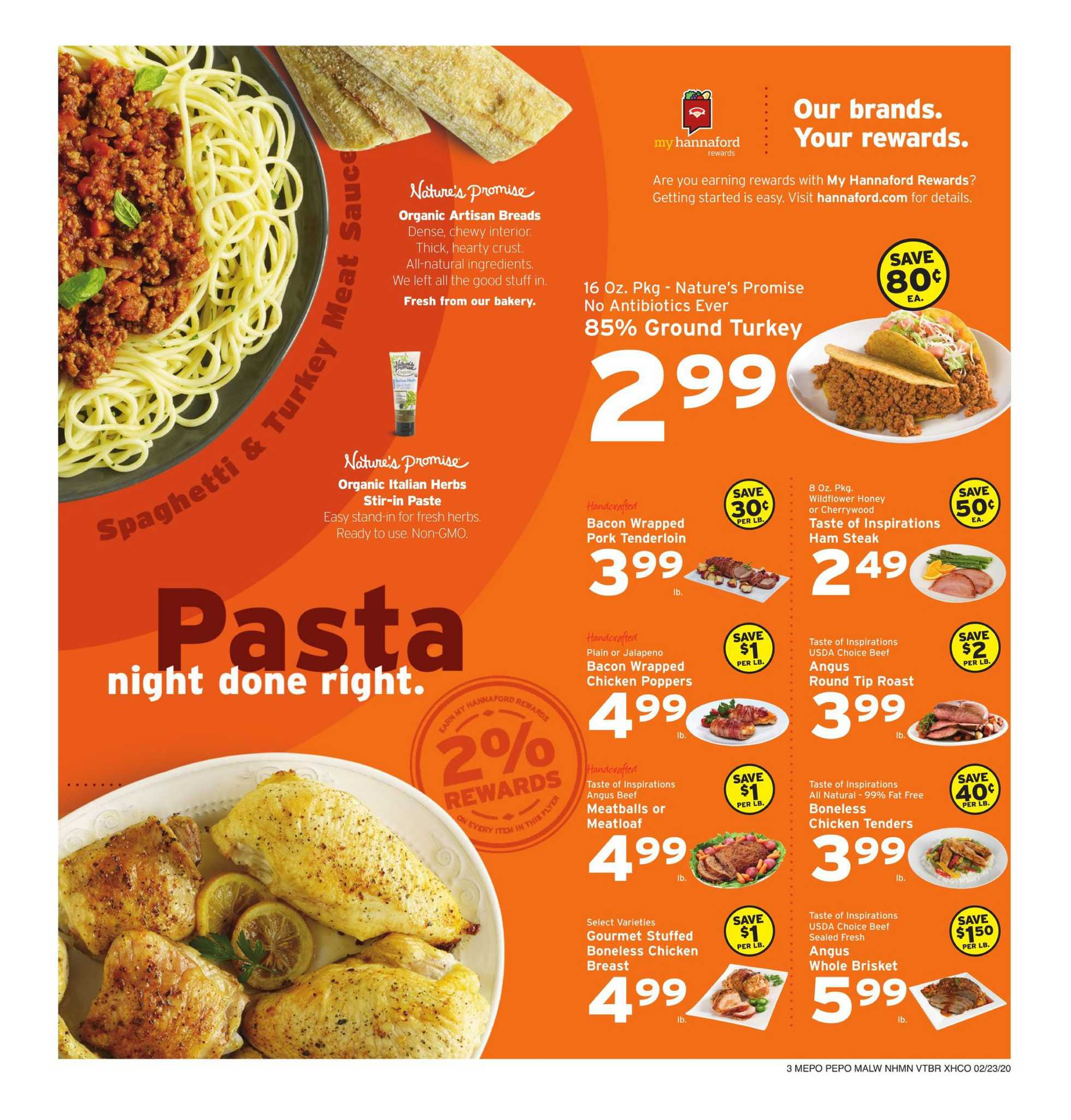 Hannaford - promo starting from 02/23/20 to 02/29/20 - page 3.