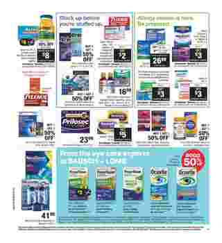 CVS - deals are valid from 03/22/20 to 03/28/20 - page 14.