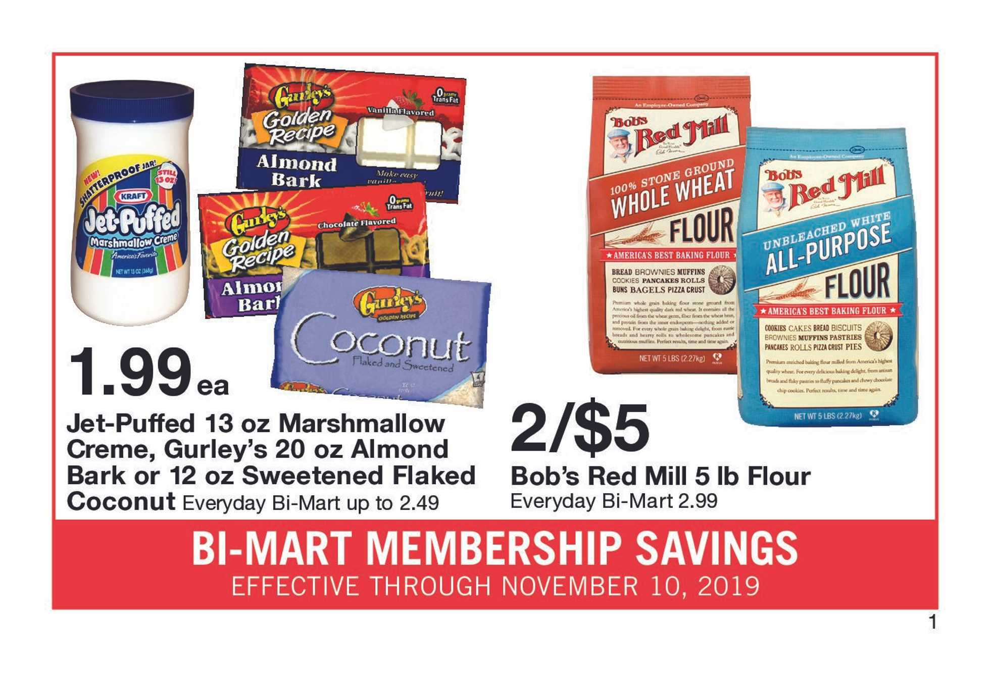 Bi-Mart - deals are valid from 10/31/19 to 11/10/19 - page 3.