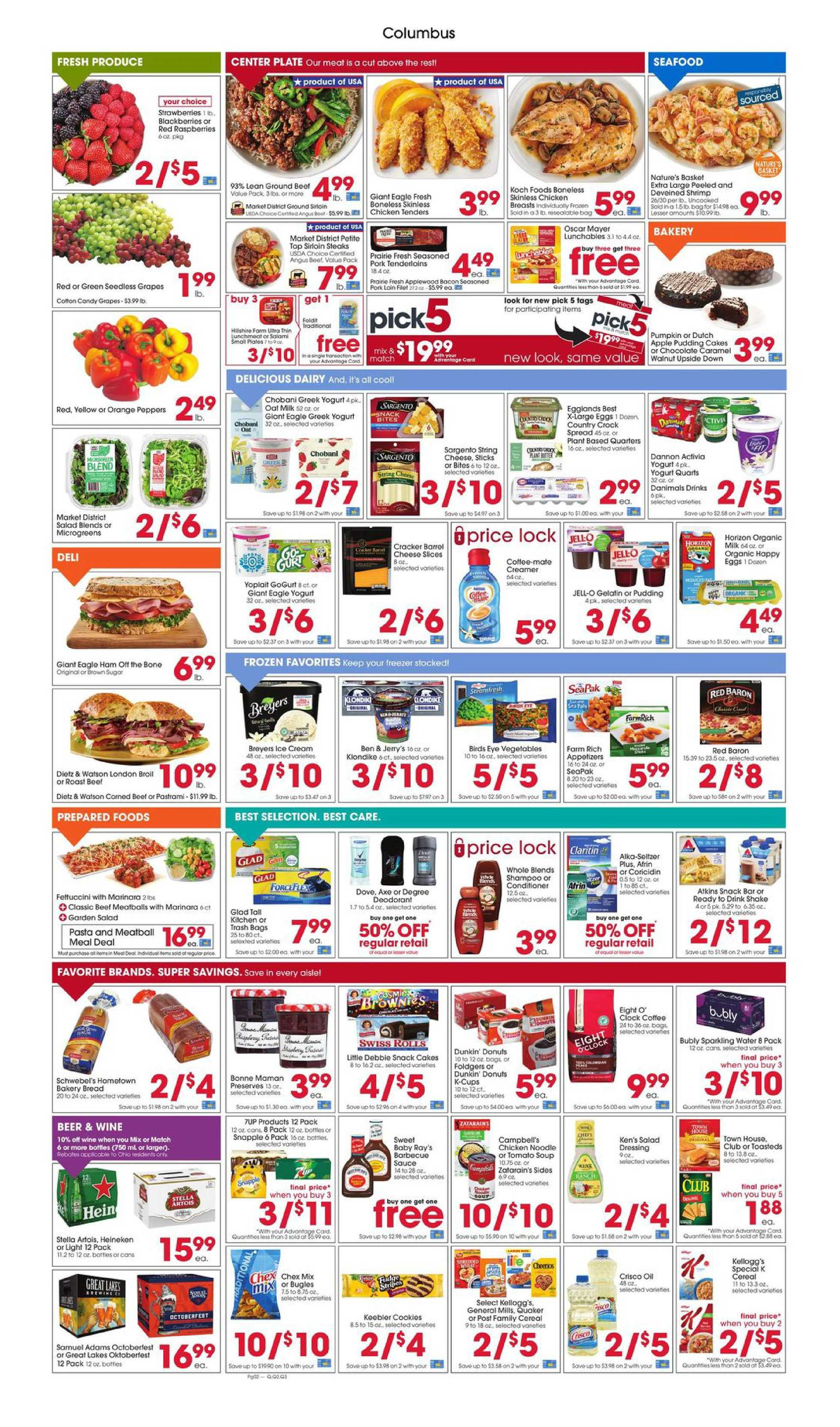 Giant Eagle - deals are valid from 09/10/20 to 09/16/20 - page 2.