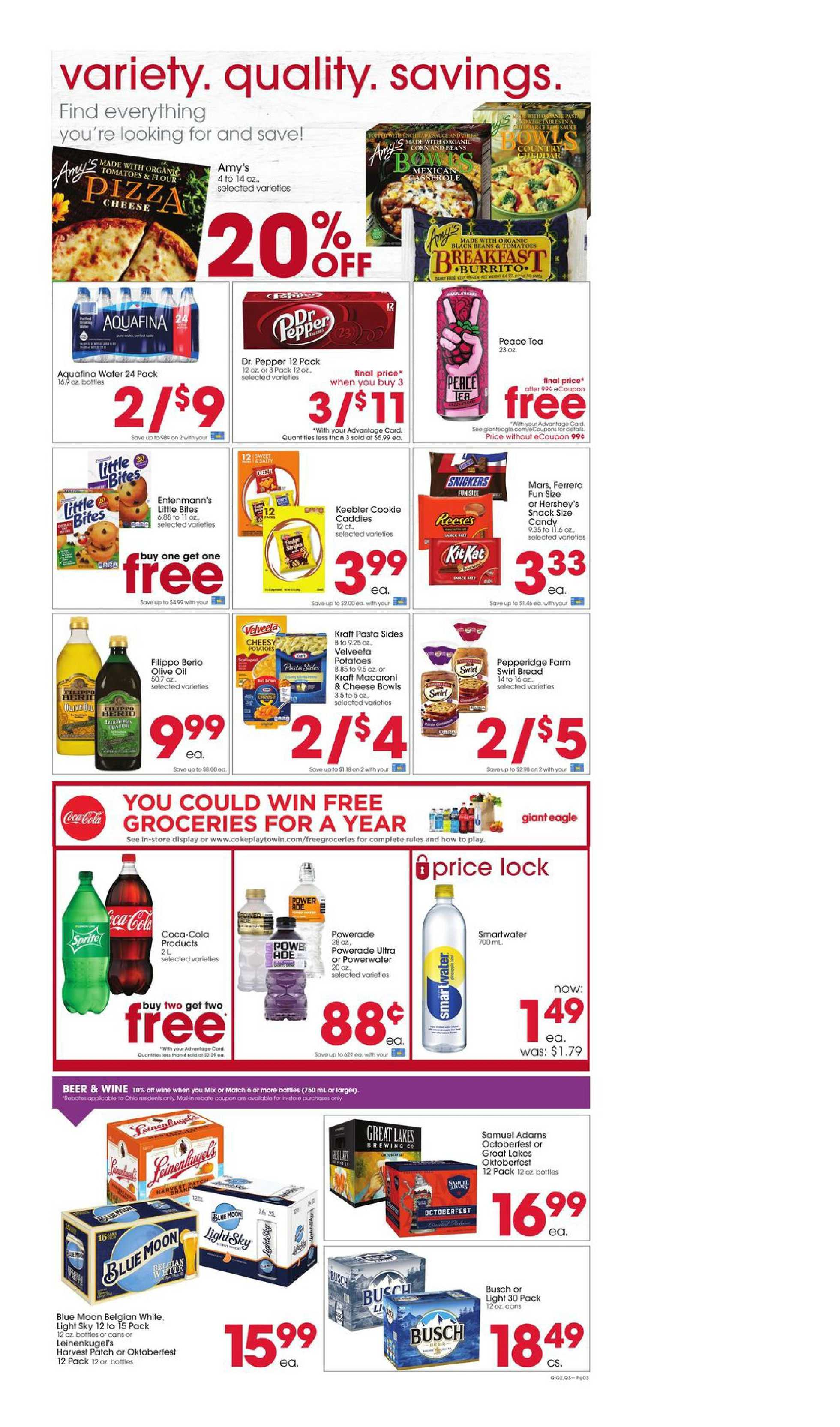 Giant Eagle - deals are valid from 09/10/20 to 09/16/20 - page 3.