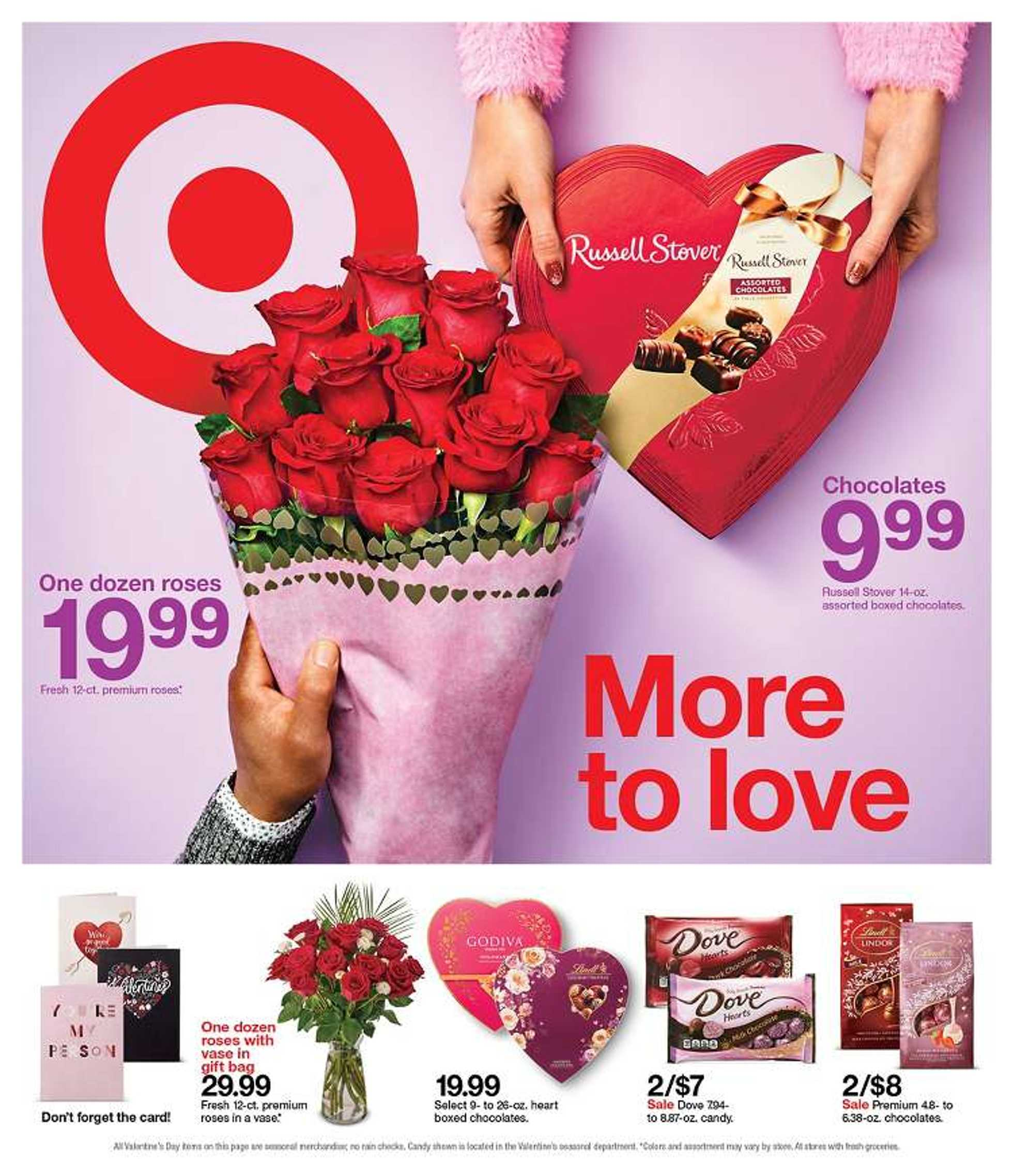 Target - deals are valid from 02/09/20 to 02/15/20 - page 1.