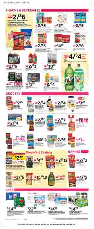 Stop & Shop - deals are valid from 10/16/20 to 10/22/20 - page 10.