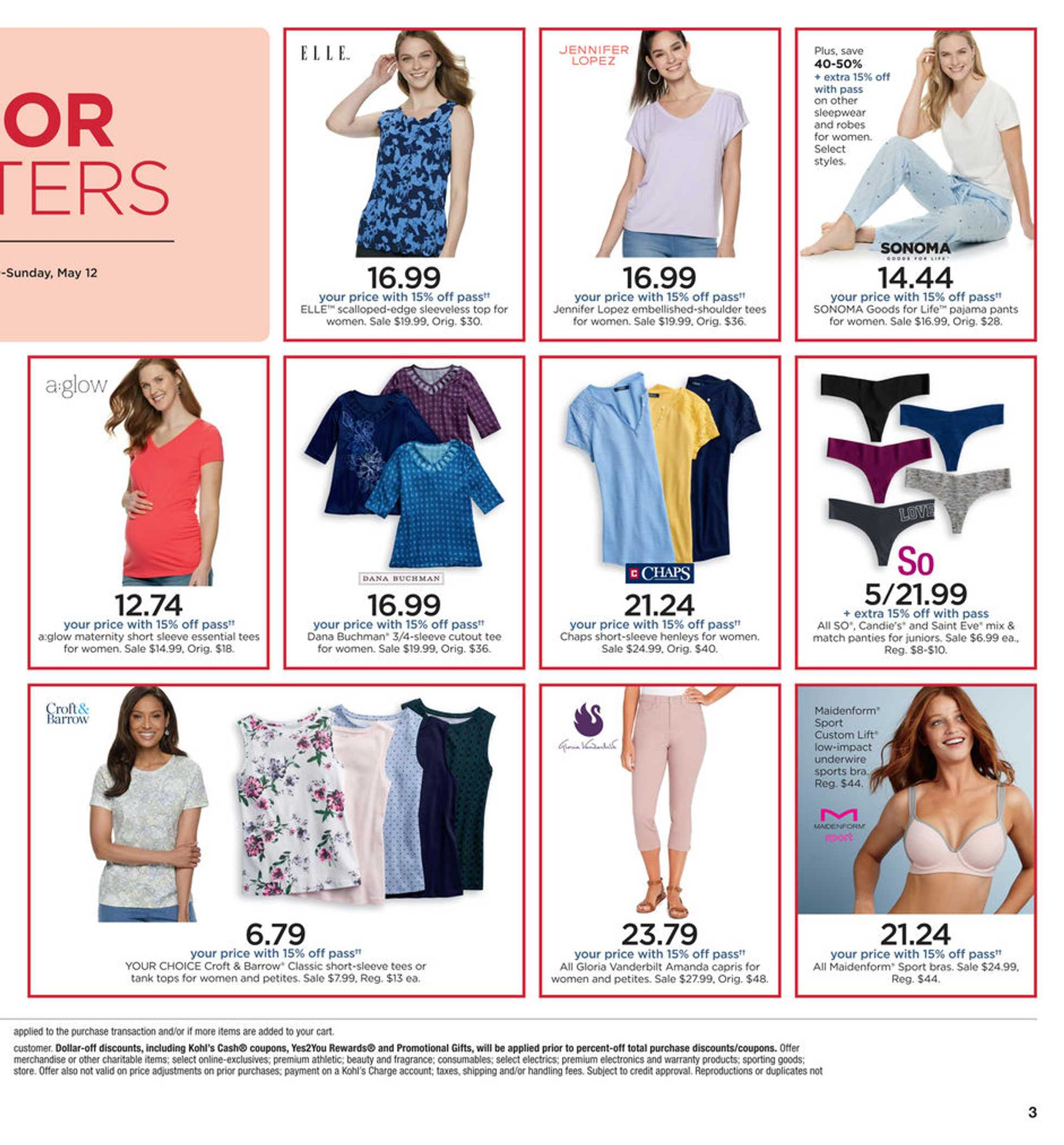 Kohl's - deals are valid from 05/09/19 to 05/19/19 - page 3.