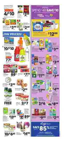 Kroger - deals are valid from 03/11/20 to 03/17/20 - page 5.
