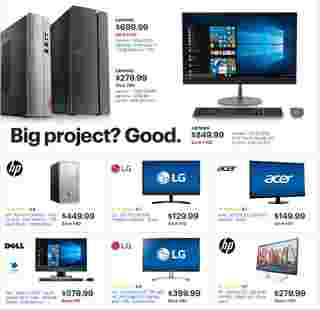 Best Buy - deals are valid from 05/05/19 to 05/11/19 - page 29.