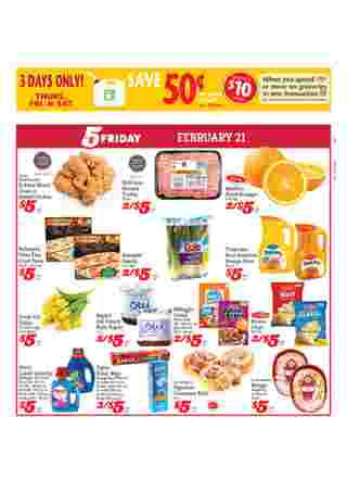 D&W Fresh Market - promo starting from 02/16/20 to 02/22/20 - page 5.